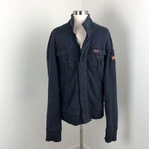 Hollister dark blue jacket